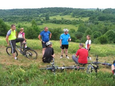 Keliaukime po gamta su dviraciais